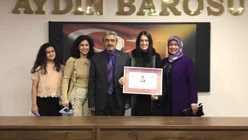 MHP'li Alıcık'ın kızı avukat oldu