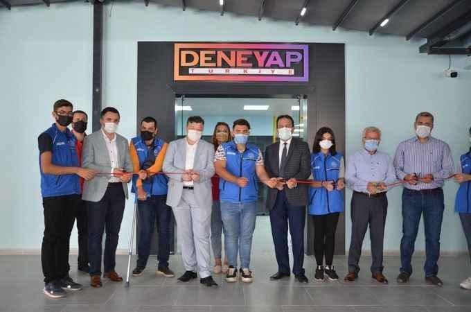 Aydın'da 'Deneyap Teknoloji Atölyesi' açıldı
