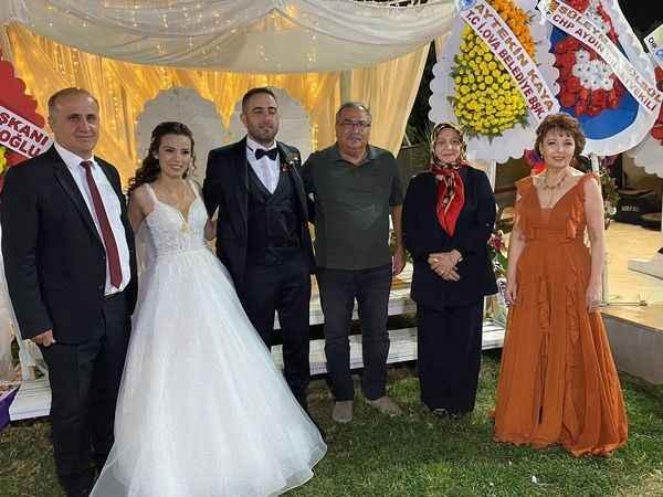 Balcı ve Özdemir ailelerinin mutlu günü