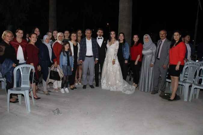 Meclis Üyesi Çıblak'ın kızı evlendi