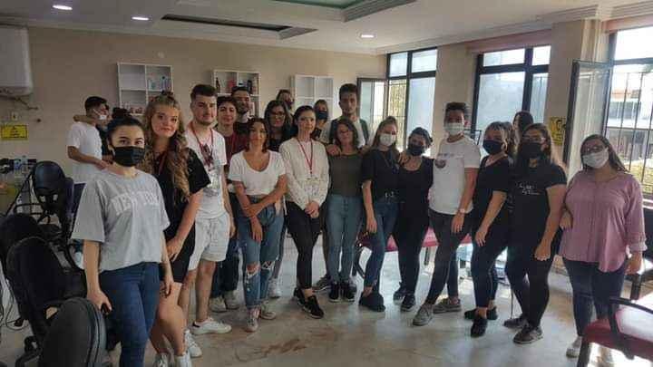 Efeler Mesleki Eğitim Merkezi'nce Erasmus projesi uygulandı