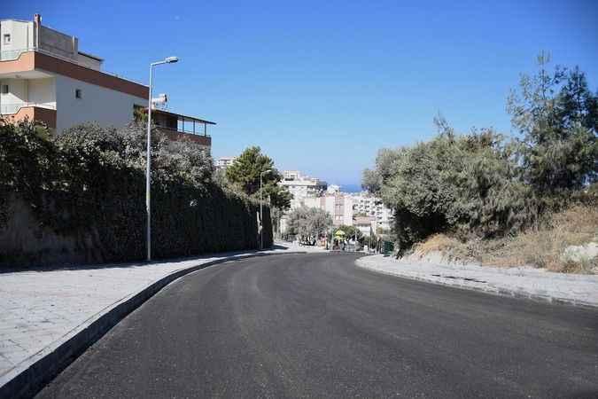 Kuşadası'nın İkiçeşmelik Mahallesinde değişim sürüyor
