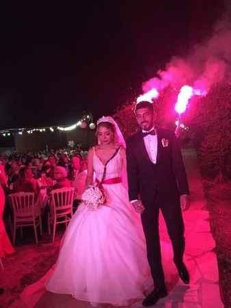 Tolgahan ve Saliha, muhteşem düğünle hayatlarını birleştirdi