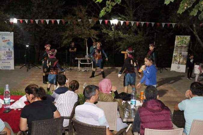 Bozdoğan'da halk oyunları gösterisi sergilendi