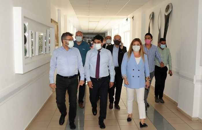 AK Partili Özmen'den ADÜ'ye ziyaret