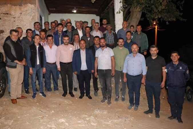 AK Partili Özmen, Bozdoğan'da vatandaşlarla buluştu