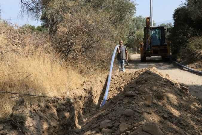 Nazilli'de iyi su hatları yenileniyor