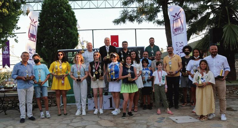 Aydın'da tenis turnuvası başlıyor
