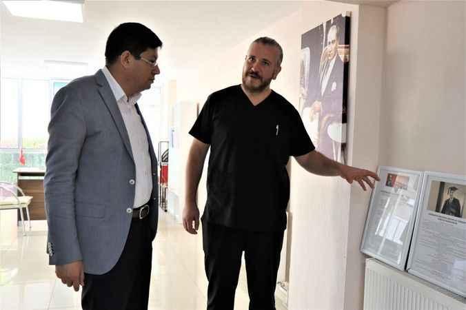 Başkan Özcan'dan teşekkür ziyareti