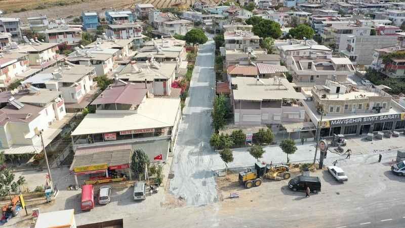 Didim Belediyesi'nden Mersindere'de sokak çalışması