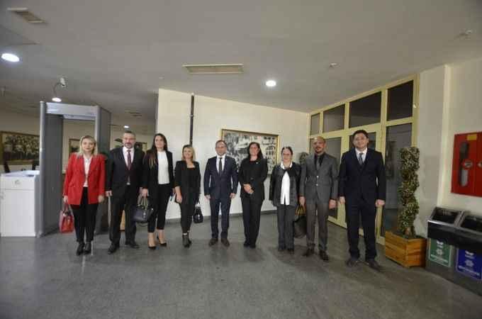 Aydın Barosu'ndan Vali Aksoy ve Başkan Çerçioğlu'na ziyaret