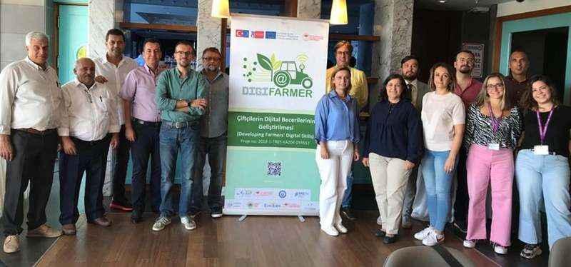 Aydın, uluslararası çiftçilere ev sahipliği yaptı