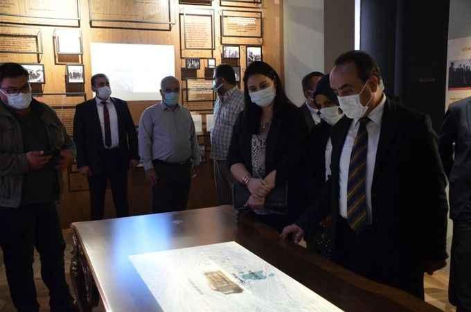Bakan Yardımcısı Özkaldı, Adnan Menderes Müzesi'ni gezdi