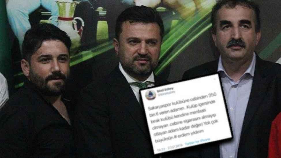 Sakaryaspor'da bir istifa daha!