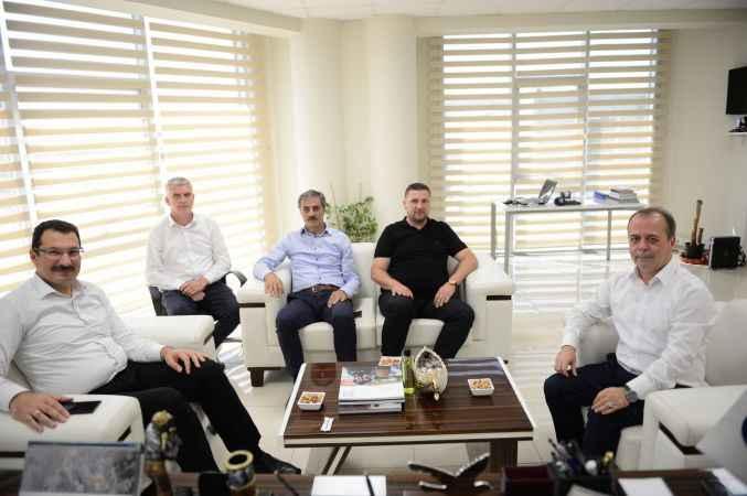 AK Parti Genel Başkan Yardımcısı Yavuz'dan AA'ya ziyaret