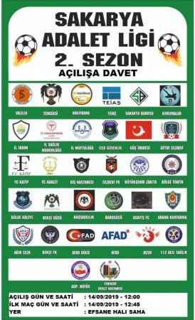 Sakarya'da futbol turnuvası düzenlenecek
