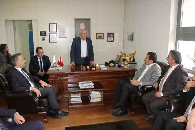 AK Partili Yavuz'dan fabrika ve üretim tesislerine ziyaret