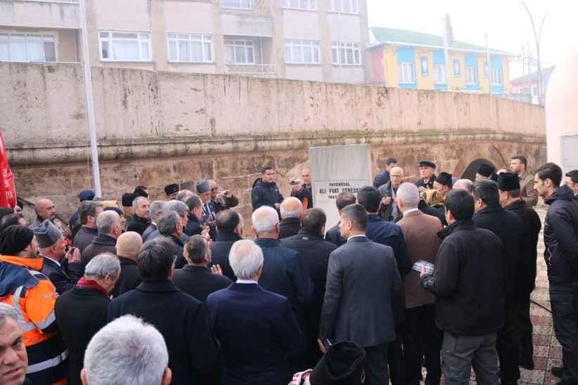 Ali Fuat Cebesoy kabri başında dualarla anıldı