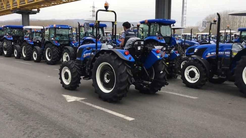 Sakarya'da üretilen traktörler en çok o ülkeye gidiyor