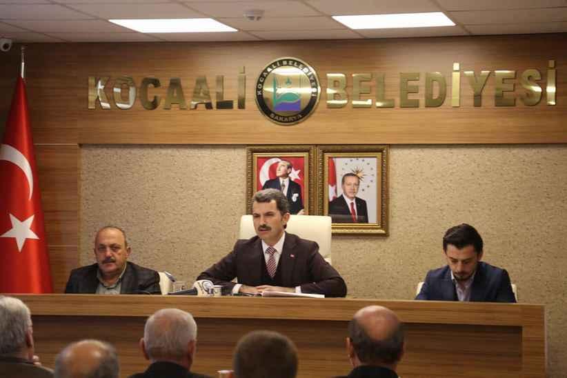 Kocaali Belediye meclisi toplanıyor