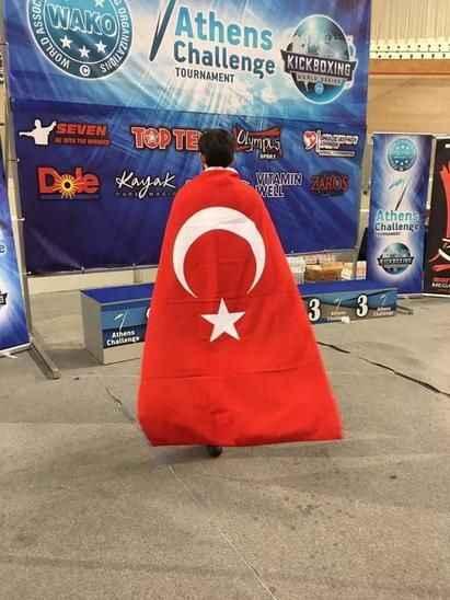 Sakaryalı sporcu Atina'da şampiyon oldu