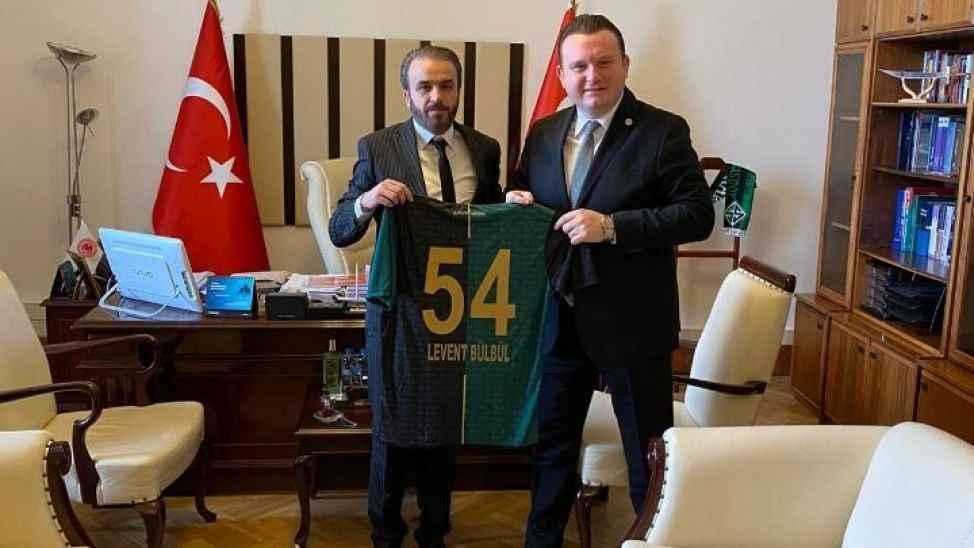Bülbül ve Atalay'dan 54.yıl forma desteği