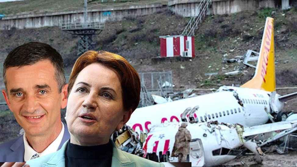 Akşener ve Dikbayır'ı taşıyan uçak türbülansa girdi…Uçak kazasından hemen önce...
