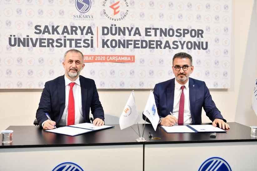 SAÜ ile Etnospor arasında işbirliği