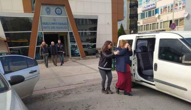 Kocaeli'de fuhuş operasyon operasyonu: 2 tutuklama