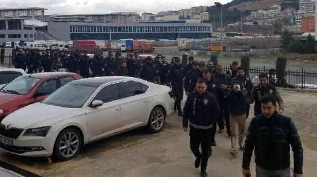 1 milyon TL'lik vurgun yapan 24 kişi tutuklandı