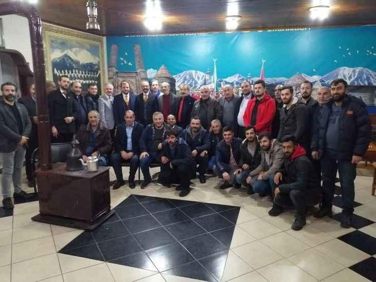 Yeniden Refah Partisi miting öncesi sahada