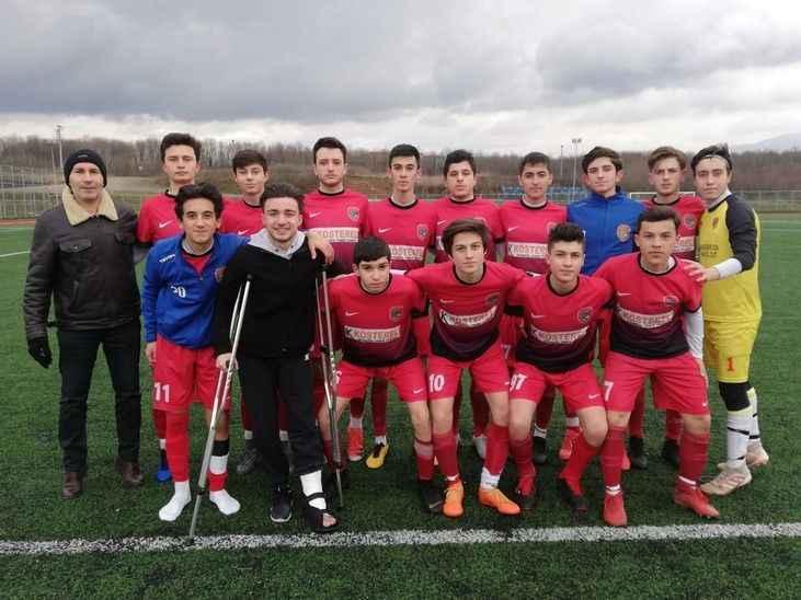 Boğazspor'un Gençleri Gol Yağdırdı