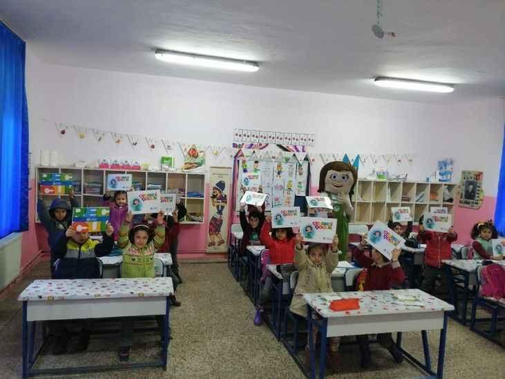 Çevre Dostu Tomurcuk okullarda