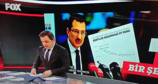 Yavuz'un o sözlerini Fox Haber yayınladı