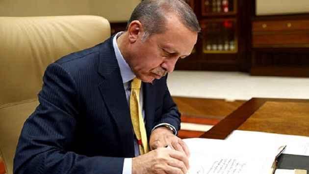 Erdoğan eski ilçe başkanlarına mektup gönderdi