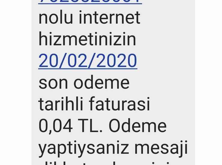 Telekom bunu da yaptı! 4 kuruş için fatura gönderdi