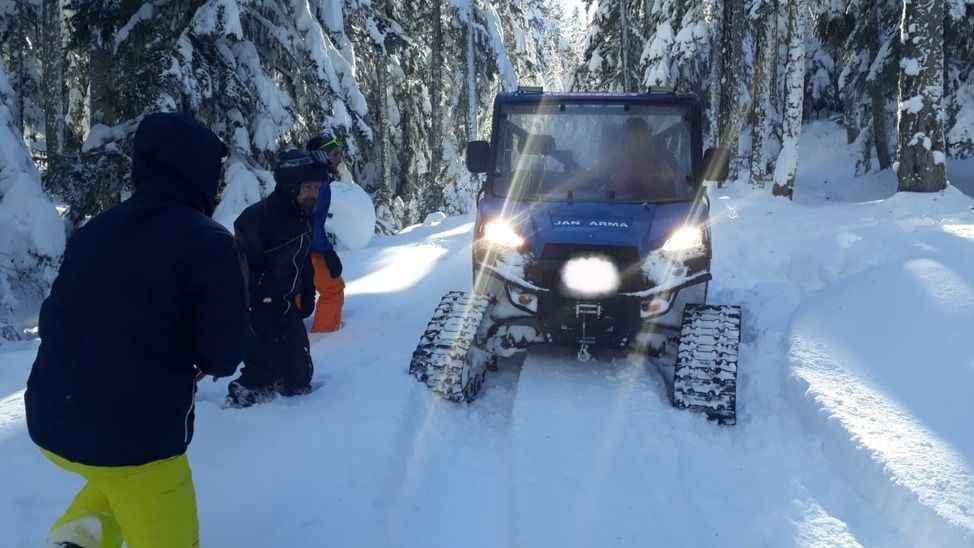 SEDAŞ ekipleri Bolu Dağı'nda kesintisi çalışma yürütüyor
