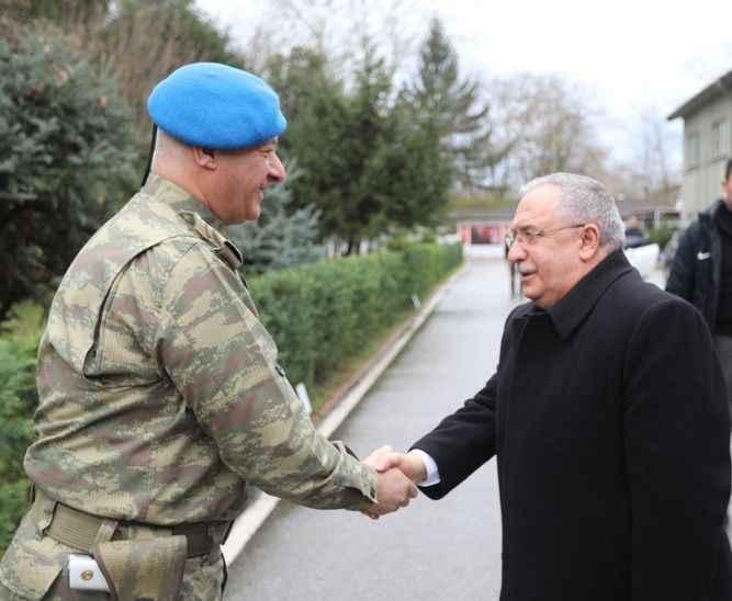 Vali'den Garnizon ve Tugay Komutan Vekili Köse'ye iade-i ziyaret