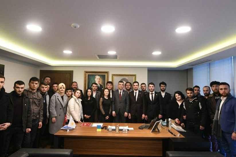 İyi Parti Sakarya Gençlik Kolları Ankara'da
