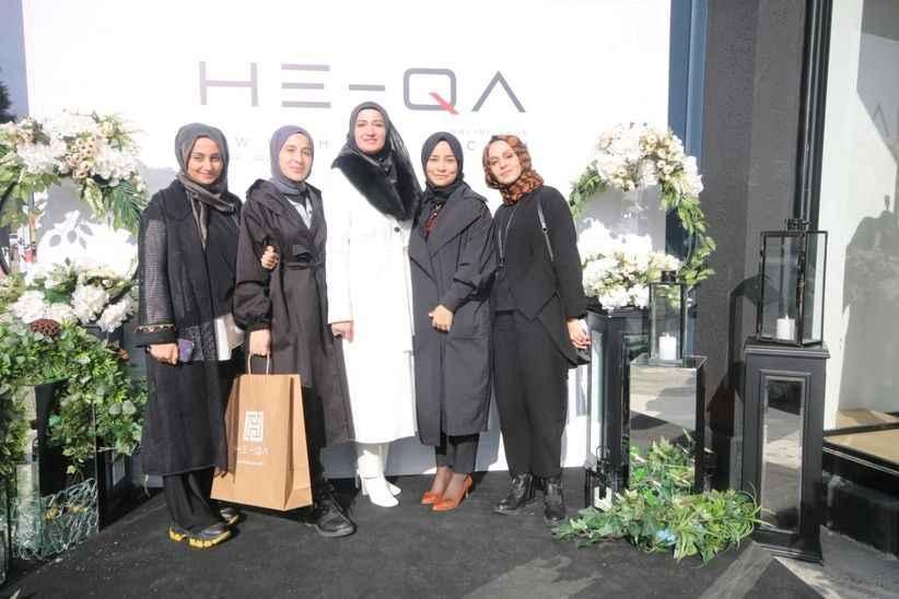 Tesettür giyim markası HE-QA açıldı