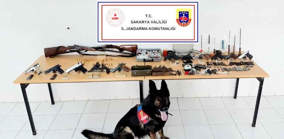 İki ilçede silah kaçakcılarına operasyon
