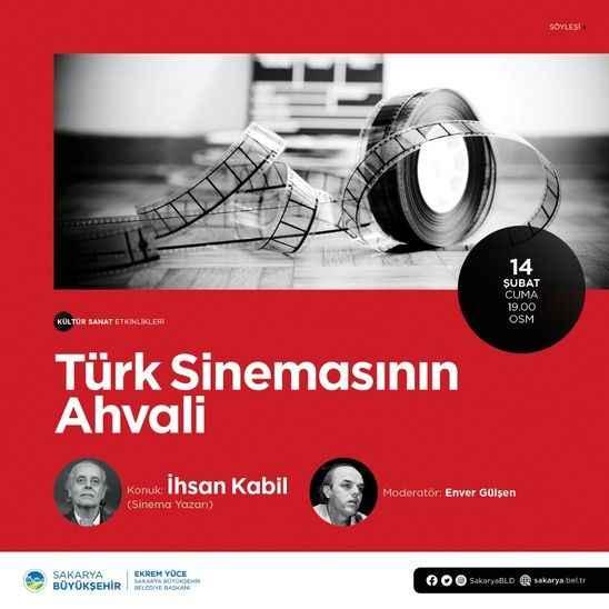 'Türk Sinemasının Ahvali' OSM'de Konuşulacak