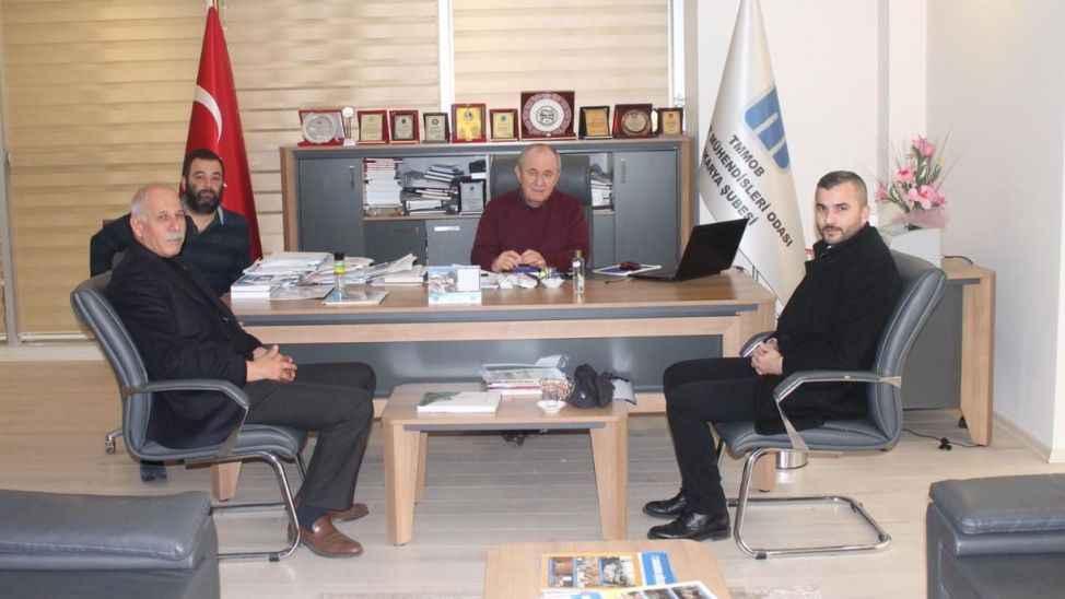 İMO'dan MHP'nin Depreme Hazırlık Master Planı'na destek