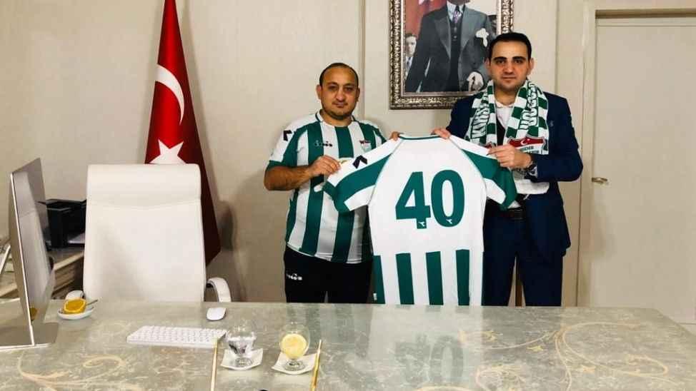 Kırşehir'in Sakaryaspor hayranı Sakaryalı kaymakamı