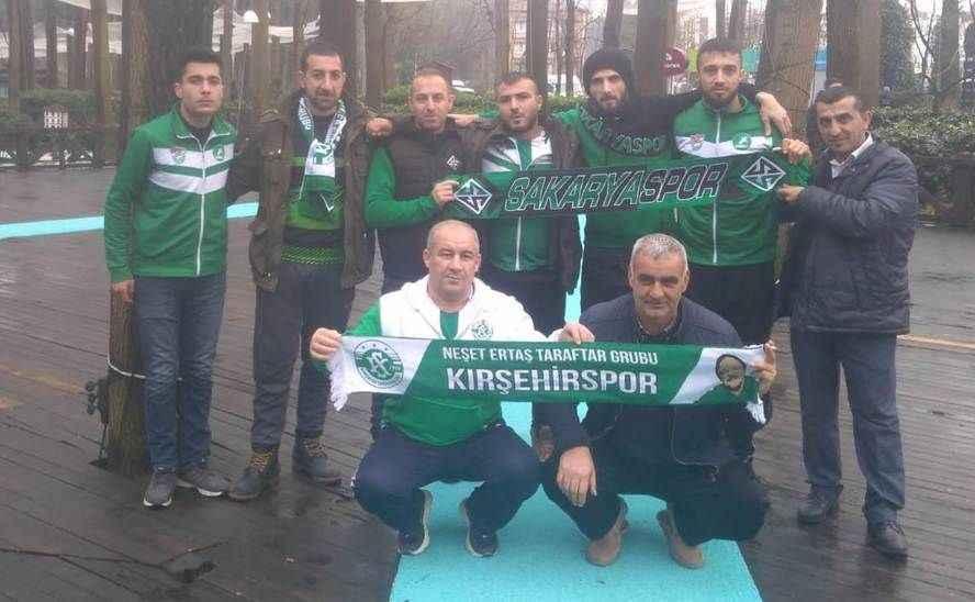 Kırşehir taraftarları ile birliktelik mesajı verildi