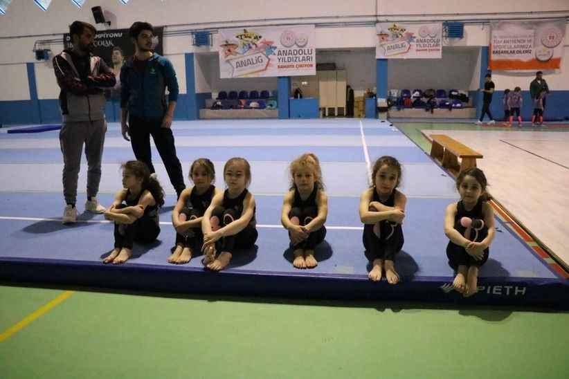 Sakarya Cimnastik müsabakalarına ev sahipliği yaptı