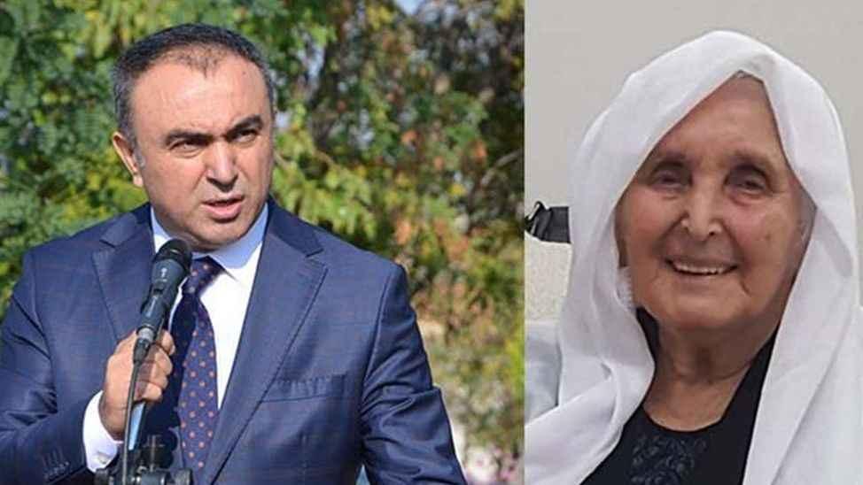 Sakaryalı Kilis Valisi Recep Soytürk'ün Anne Acısı