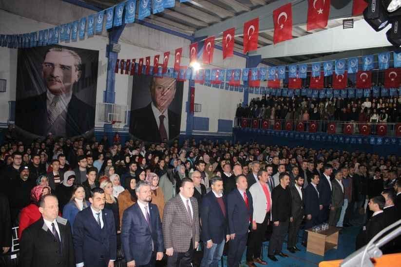 Ülkücülerden 2023 Milliyetçi Türkiye Şahlanış Gecesi