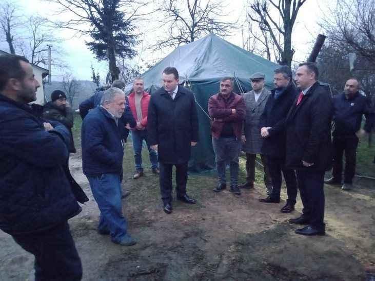 Bülbül'den acılı aileye ziyaret