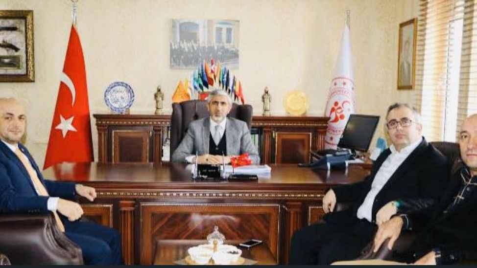 İYİ Parti'den Arif Özsoy'a ziyaret